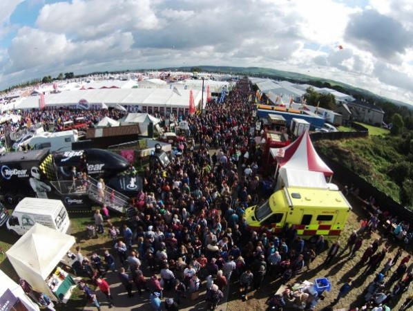 The National Ploughing Championships.
