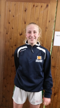 Congratulations to Emma Hand who is part of the Midlands Basketball panel heading to Basketball Ireland's Post Primary School's Inter Regional Tournament in U.L this coming weekend.