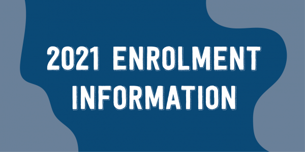 Enrolment Information and Registration for ZOOM information meeting.