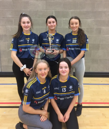 Congrats to our u16 Badminton Winners!!