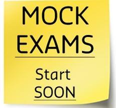 Mock Exams 2018