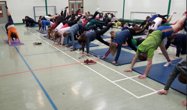Yoga and Meditation for 5th and 6th students with Tanya Whelahan